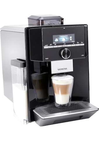SIEMENS Kaffeevollautomat »EQ.9 s300 TI923509DE«, individualCoffee System: Persönliches Getränke-Menü für bis zu 6 Profile. kaufen