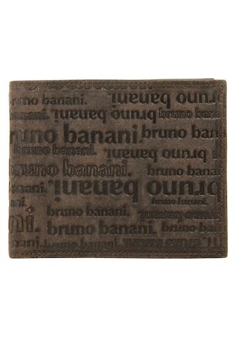 Bruno Banani Geldbörse »ALL OVER«, Kreditkartenfächer kaufen