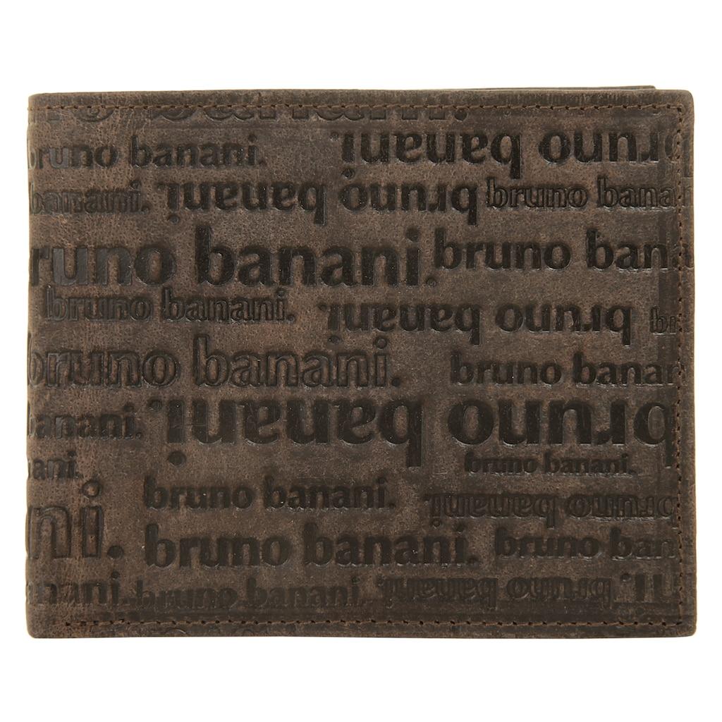 Bruno Banani Geldbörse »ALL OVER«, Kreditkartenfächer