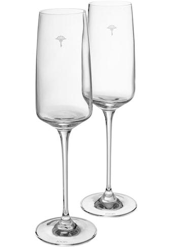 Joop! Champagnerglas »JOOP! SINGLE CORNFLOWER«, (Set, 2 tlg.), mit einzelner Kornblume... kaufen