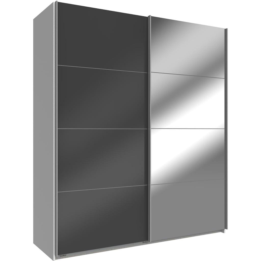 Wimex Schwebetürenschrank »Easy«, mit Glas und Spiegel