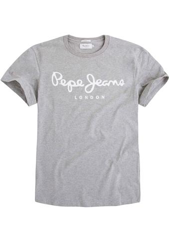 Pepe Jeans Rundhalsshirt »ORIGINAL STRETCH« kaufen