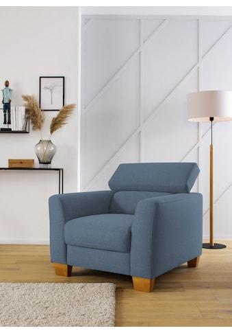 Home affaire Sessel »Steve Premium«, mit Kopfteilverstellung kaufen