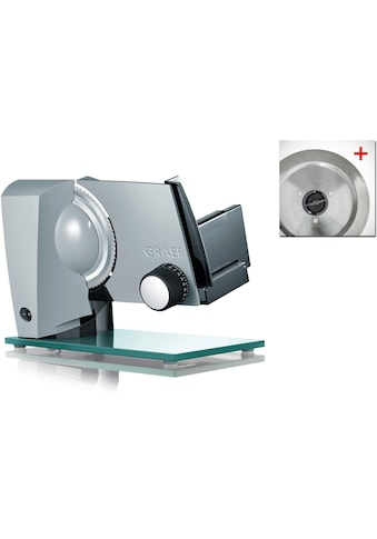 Graef Allesschneider Sliced Kitchen S12120OT TWIN, 170 Watt kaufen