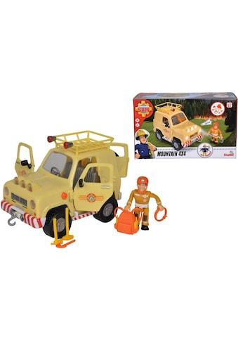 SIMBA Spielzeug-Auto »Feuerwehrmann Sam, 4x4 Geländewagen«, mit Licht kaufen