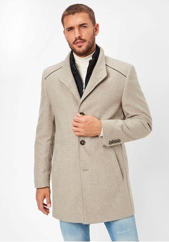 S4 Jackets Wollmantel »Newton L«, Moderner Mantel kaufen