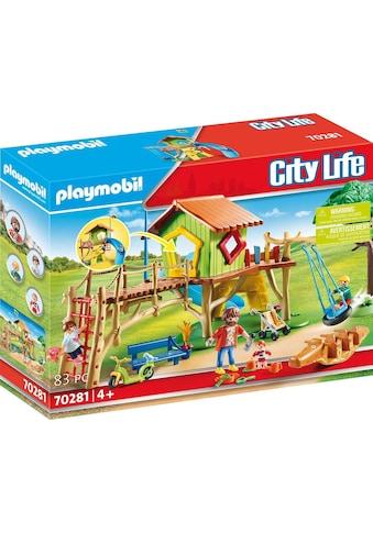 Playmobil® Konstruktions-Spielset »Abenteuerspielplatz (70281), City Life«, ; Made in... kaufen