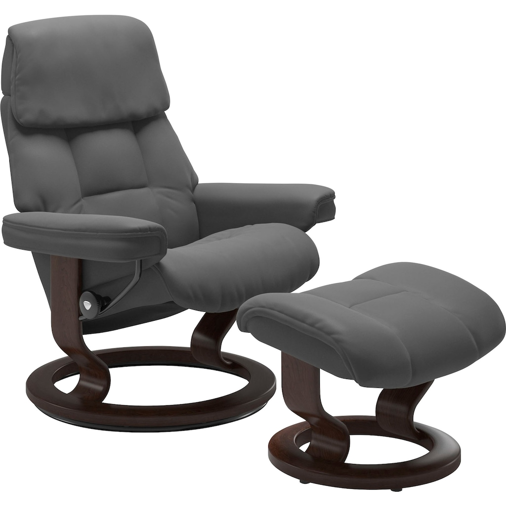 Stressless® Relaxsessel »Ruby«, mit Classic Base, Größe L, Gestell Eiche, Wenge, Braun & Schwarz