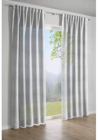 GARDINIA Vorhang »Jaquard-Voile«, HxB: 245x140 kaufen
