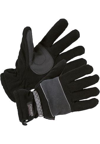Fleecehandschuhe »0914-1060 schwarz/grau« kaufen