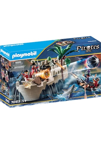 Playmobil® Konstruktions-Spielset »Rotrockbastion (70413), Pirates«, (101 St.), Made... kaufen