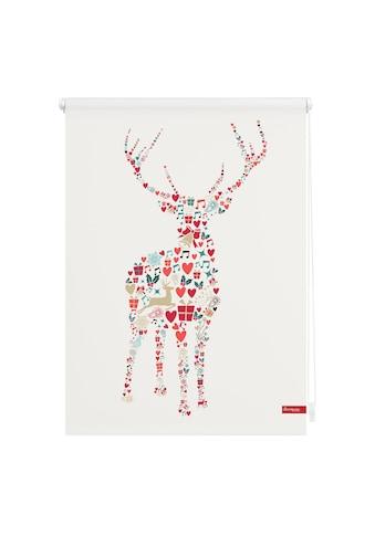 LICHTBLICK ORIGINAL Seitenzugrollo »Klemmfix Motiv Rentier Weihnachten«, Lichtschutz,... kaufen