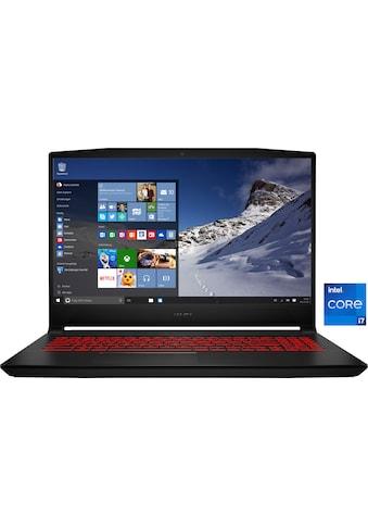 "MSI Gaming-Notebook »Katana GF66 11UE-063«, (39,6 cm/15,6 "" Intel Core i7 GeForce RTX™... kaufen"