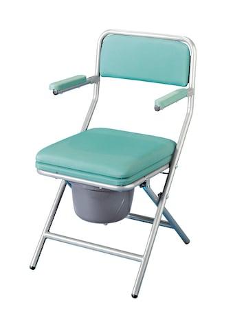 Toiletten-Stuhl mit Polsterauflage kaufen