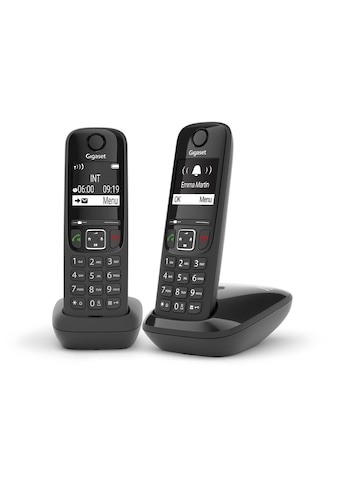 Gigaset Schnurloses DECT-Telefon »AS690A«, (Mobilteile: 2 ) kaufen