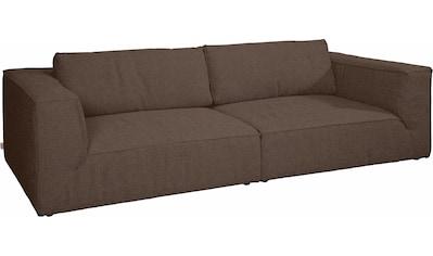 TOM TAILOR Big-Sofa »BIG CUBE STYLE«, mit bequemen Stegkissen, extra große Sitztiefe,... kaufen