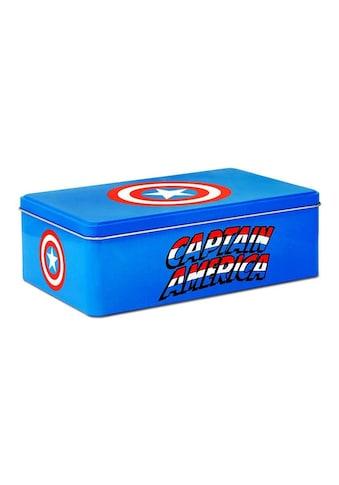 LOGOSHIRT Blechdose mit Captain America - Motiv kaufen