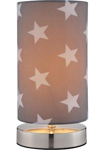 Lüttenhütt Tischleuchte »Steern«, E14, Tischlampe mit Sterne - Stoffschirm Ø 12 cm,... kaufen
