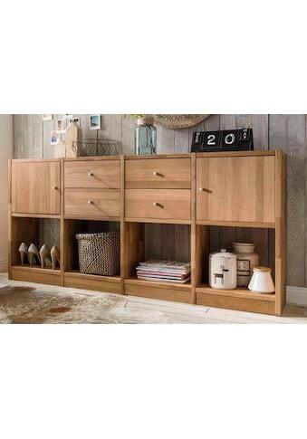 Premium collection by Home affaire Sideboard »Ecko«, aus massivem Wildeichenholz,... kaufen