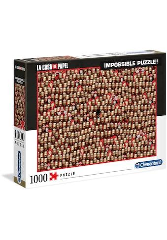 """Clementoni® Puzzle """"Impossible Puzzle  -  Das Haus des Geldes"""" kaufen"""