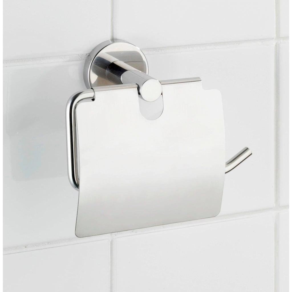 WENKO Toilettenpapierhalter »Bosio«, mit Deckel