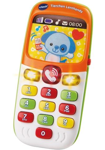 Vtech® Spieltelefon »VTech Baby Tierchen Lernhandy«, mit Licht und Sound kaufen