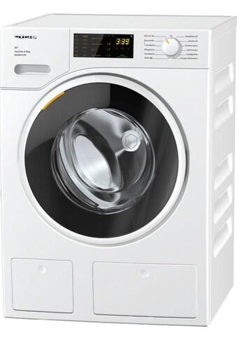 Waschmaschine Frontlader, Miele, »WWD660 WCS TDos & 8 kg W1  Lotosweiß« kaufen