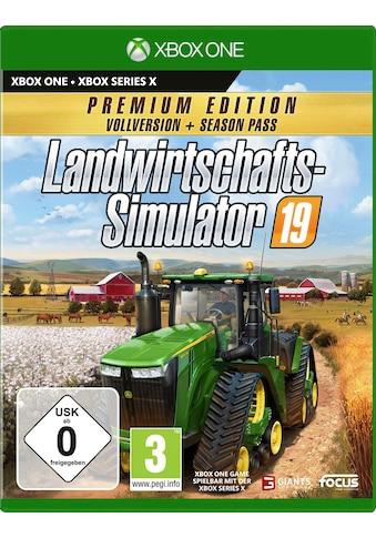 Astragon Spiel »Landwirtschafts-Simulator 19: Premium Edition«, Xbox One kaufen