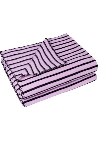 zoeppritz Wohndecke »Soft-Ice«, im Streifendesign kaufen
