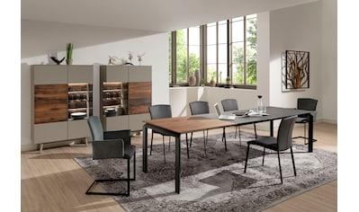 GWINNER Esstisch »Esstisch ET523«, mit Piton Tischplatte, wahlweise mit Auszugsfunktion kaufen