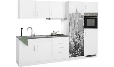 HELD MÖBEL Küchenzeile »Paris«, mit E-Geräten, Breite 280 cm, wahlweise mit... kaufen