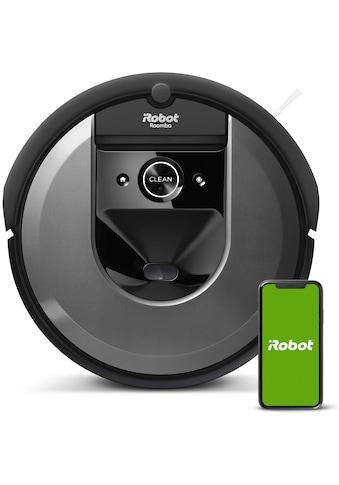 iRobot Saugroboter »Roomba i7 (i7158)«, Kompatibel mit Sprachsteuerung kaufen