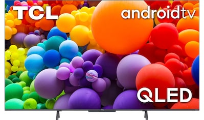 """TCL QLED-Fernseher »75C722X1«, 189 cm/75 """", 4K Ultra HD, Android TV-Smart-TV, Android... kaufen"""