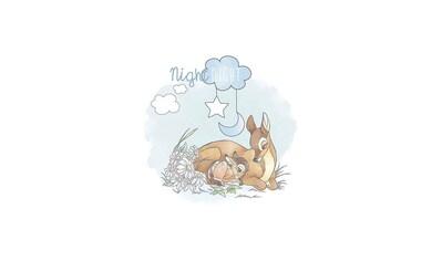KOMAR XXL Poster »Bambi Good Night« kaufen