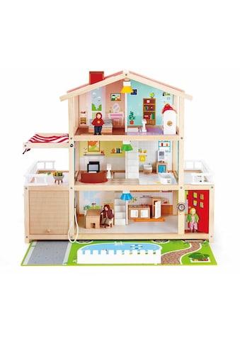 Hape Puppenhaus »Puppen-Villa«, inkl. Puppenmöbel kaufen