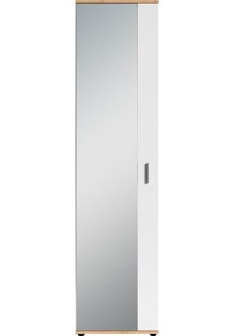 byLIVING Garderobenschrank »Jakob«, mit großem Spiegel, Breite 49 cm kaufen
