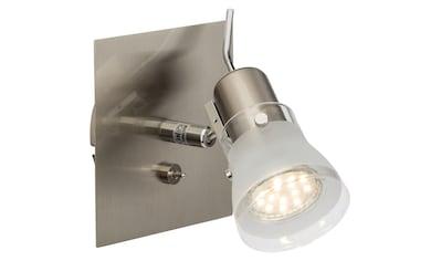 Brilliant Leuchten Lipari LED Wandspot Schalter eisen kaufen