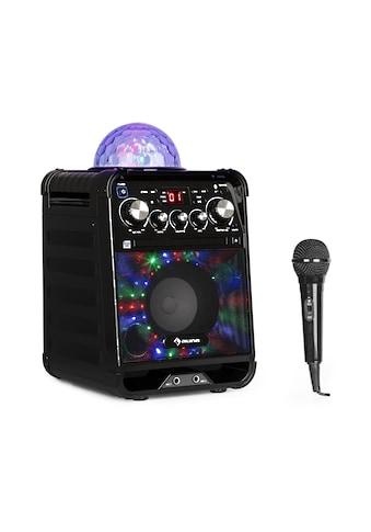 Auna LED Karaokeanlage CD - Player Bluetooth AUX 2 x 6,3mm »Rockstar« kaufen