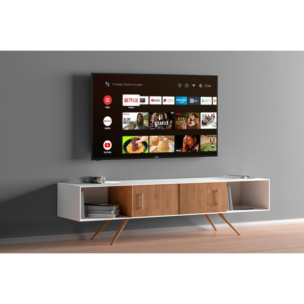 "Telefunken LED-Fernseher »XU43AJ600«, 108 cm/43 "", 4K Ultra HD, Google TV-Android TV"