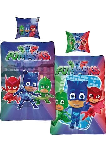 PJ Masks Wendebettwäsche »Attack«, mit drei kleinen Helden kaufen