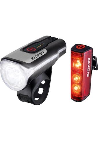 SIGMA SPORT Fahrradbeleuchtung »AURA 80 USB / BLAZE Kpmplett Set«, (Set, 3, Front- und Rücklicht) kaufen