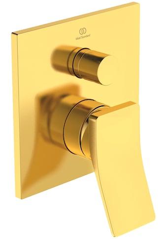 Ideal Standard Badarmatur »Check«, Unterputz Bausatz 2 eigensicher, Brushed Gold kaufen