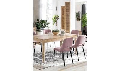 SIT Esstisch »Lakadee«, mit detailreichen Schnitzereien kaufen