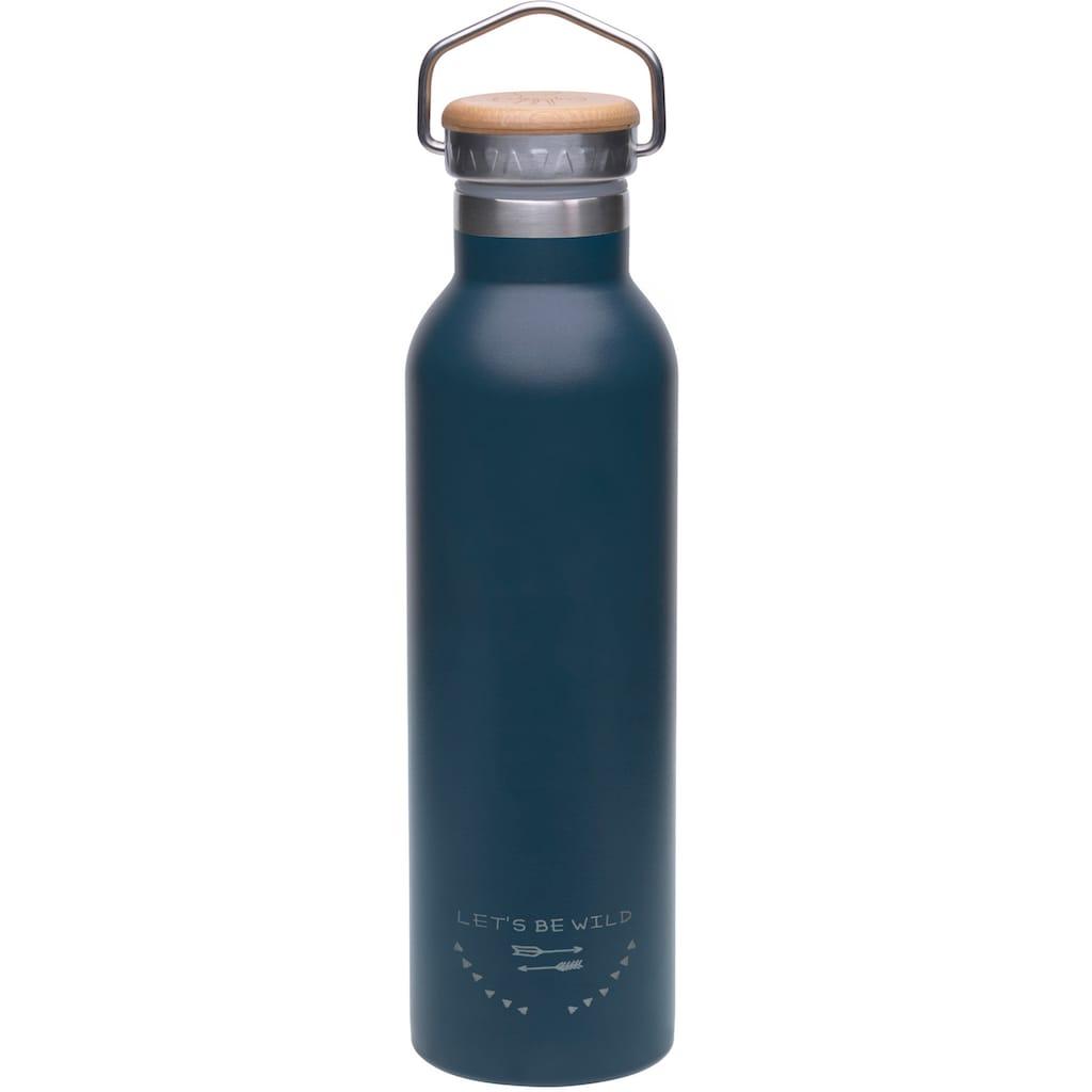 LÄSSIG Trinkflasche »Adventure, blue«, isoliert