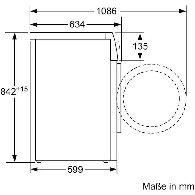 BOSCH Wärmepumpentrockner WTX87M40, 8 kg
