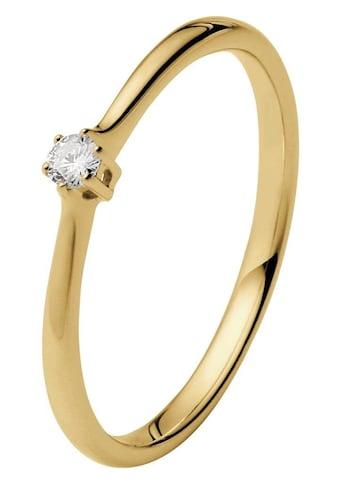 Firetti Solitärring »Diamantring, Verlobungsring«, mit Brillant in klassischer... kaufen