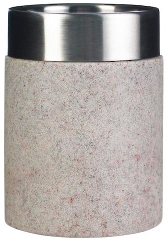 Ridder Zahnputzbecher »Stone«, Steinoptik kaufen