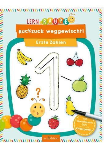 Buch Lernraupe  -  Ruckzuck weggewischt! Erste Zahlen / Corina Beurenmeister kaufen