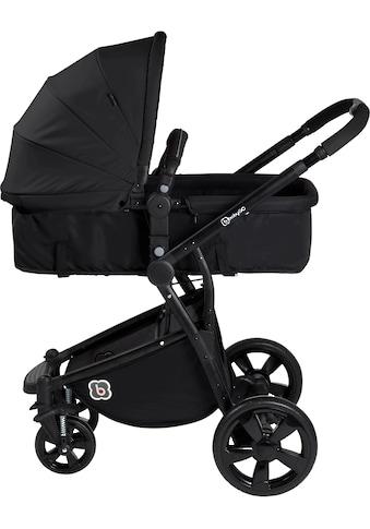 BabyGo Kombi-Kinderwagen »Spring, black«, 15 kg kaufen