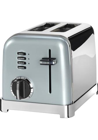 Cuisinart Toaster »CPT160GE«, 2 kurze Schlitze, für 2 Scheiben, 900 W, mit 6... kaufen